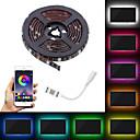 ieftine Conectori-led pat 5050 rezistent la apa 60 de grade RGB culoare cablu flexibil cu iluminare de fundal TV de control