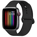 billige Daglige tilbud-Urrem for Apple Watch Series 4/3/2/1 Apple Sportsrem Silikone Håndledsrem