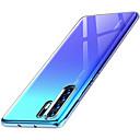 رخيصةأون Huawei أغطية / كفرات-غطاء من أجل Huawei Huawei P20 / Huawei P20 Pro / Huawei P20 lite نحيف جداً غطاء خلفي شفاف ناعم TPU