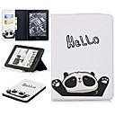 ieftine Părți Motociclete & ATV-Maska Pentru Amazon Kindle Voyage Titluar Card Carcasă Telefon Animal / Desene Animate / Panda Moale PU piele