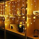 cheap LED Strip Lights-4m*0.6m Light Sets / String Lights 96 LEDs Warm White / White / Blue Waterproof / Party / Decorative 220-240 V / 110-120 V 1pc