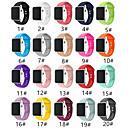 halpa Apple Watch-hihnat-smartwatch-yhtye omenakellosarjalle 4/3/2/1 muoti pehmeä silikoniurheilun bändi iwatch-hihna