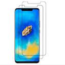 baratos Cabos & Adaptadores para Celular-Protetor de Tela para Huawei Huawei Mate 20 pro Vidro Temperado 2 pcs Protetor de Tela Frontal Alta Definição (HD) / Dureza 9H / À prova de explosão