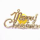 ieftine Kit De Activitate De Copii-Decoratiuni de vacanta Christmas Decorations Crăciun / Ornamente de crăciun Petrecere / Decorativ Auriu / Argintiu 12pcs