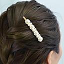 ieftine Bijuterii de Păr-Pentru femei Vintage Imitație de Perle Aliaj Logodnă Festival - Mată