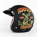 cheap CCTV Systems-Summer Unisex Motorcycle Retro Half Helmet Classic Pattern 3/4 Open Face Scooter Head Protector Helmet