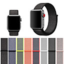 billige Apple Watch-remmer-stropp for eple klokke 4/3/2/1 vevet nylon loopback myk pustende erstatning velcro sport urrem til iwatch 40mm 44mm 42mm 38mm