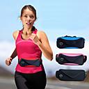 hesapli iPhone Kılıfları-Çanta bel erkek ve kadın seyahat çift spor su geçirmez ayarlanabilir seyahat çantası cepler 6 inç