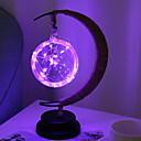 ieftine Becuri LED Glob-1set LED-uri de lumină de noapte Purpuriu Baterii AA alimentate Creative