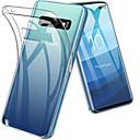 رخيصةأون إكسسوارات سامسونج-غطاء من أجل Samsung Galaxy S9 / S9 Plus / S8 Plus ضد الصدمات / نحيف جداً / شفاف غطاء خلفي لون سادة ناعم TPU