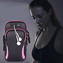 رخيصةأون Sony أغطية / كفرات-حقيبة ذراع للجنسين حقيبة الذراع حقيبة الجري الركض الذراع الصالة الرياضية مع حامل حقيبة الهاتف المحمول حقيبة سماعة للماء 6.4 بوصة