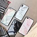 رخيصةأون أغطية أيفون-غطاء من أجل Apple iPhone XS / iPhone XR / iPhone XS Max مرآة غطاء خلفي حجر كريم قاسي زجاج مقوى