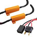 ieftine Lumini de Ceață Mașină-Rezistor h7 rezistă bec bec 6 ohm rezistență decodor de avertizare eroare gratuit decodor anulare condensator