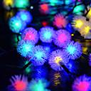 ieftine Ustensile Bucătărie & Gadget-uri-6m Fâșii de Iluminat 30 LED-uri Dip Led Alb Cald / Alb Rece / Albastru Solar / Petrecere / Decorativ 2 V 1 buc