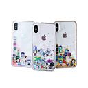 رخيصةأون واقيات شاشات أيفون 6/ 6 بلس-الحال بالنسبة لتفاح iphone xs max / iphone 8 plus diy / نمط / تدفق السائل الغطاء الخلفي بريق تلميع الصلب pc / tpu للآيفون 7/7 زائد / 8/6/6 زائد / xr / x / xs