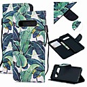 رخيصةأون Sony أغطية / كفرات-غطاء من أجل Samsung Galaxy S9 / S9 Plus / S8 Plus محفظة / حامل البطاقات / ضد الصدمات غطاء كامل للجسم شجرة جلد PU