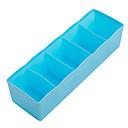 رخيصةأون خزانة سطح المكتب-مستطيل من البلاستيك بارد / تنظيم المنزل تصميم جديد ، 1PC رفوف