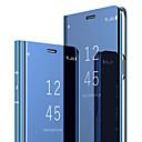 رخيصةأون واقيات شاشات سامسونج-غطاء من أجل Samsung Galaxy S8 مع حامل / قلب غطاء كامل للجسم لون سادة قاسي الكمبيوتر الشخصي
