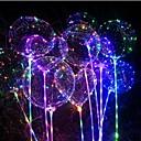 رخيصةأون ديكورات الحفلات-3M أضواء سلسلة 30 المصابيح أبيض دافئ / أحمر / أزرق ضد الماء / حزب / ديكور بطاريات آ بالطاقة 1PC