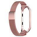 رخيصةأون أساور ساعات هواتف Xiaomi-watch band for mi band 4 / mi band 3 xiaomi milanese loop stainless steel wrist strap s