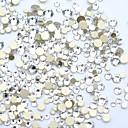 ieftine Machiaj & Îngrijire Unghii-1200pcs / ambalaj diy diamant tăiere cristal nail art 3d flatback unghii piatră decorațiuni unghii 15 culori