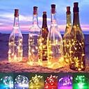 رخيصةأون أضواء شريط LED-2M أضواء سلسلة 20 المصابيح مصلحة الارصاد الجوية 0603 أبيض دافئ / أبيض / أزرق ضد الماء / ديكور / زفاف بطاريات تعمل بالطاقة 1PC