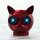 ieftine Boxe-T8 boxă cap de pisică difuzor bluetooth difuzor pentru coloană protector mini drăguț cu suport pentru microfon card tf