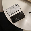 رخيصةأون أغطية أيفون-غطاء من أجل Apple iPhone XS / iPhone XR / iPhone XS Max مرآة / نحيف جداً غطاء خلفي حجر كريم TPU