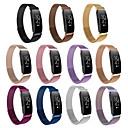billige Klokkeremmer til Garmin-Klokkerem til Fitbit Inspire HR / Fitbit Inspire Fitbit Sportsrem Rustfritt stål Håndleddsrem