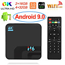 رخيصةأون صناديق التلفاز-h6 tv box android 8.1 allwinner h6 uhd media player 6k hdr 2gb 16gb 2.4g wifi tv box 100m lan usb3.0 h.265 vp9
