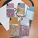 Недорогие Чехлы и кейсы для Galaxy S6-Кейс для Назначение SSamsung Galaxy S9 / S9 Plus / S8 Plus Бумажник для карт / Защита от удара / Полупрозрачный Кейс на заднюю панель Прозрачный / Сияние и блеск ТПУ