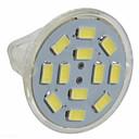 رخيصةأون كشافات ليد-3 W LED ضوء سبوت 250 lm GU4(MR11) MR11 12 الخرز LED SMD 5730 أبيض دافئ أبيض كول 12 V / 10 قطع