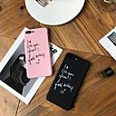 رخيصةأون أغطية أيفون-حالة لابل اي فون xs / اي فون xr / اي فون xs ماكس الغبار / نمط الغطاء الخلفي كلمة / العبارة الصلب pc ل فون xr / 6/7/8 / 6p / 7p / 8p / x