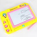 رخيصةأون اللوحي طفل-لعبة الرسم ألعاب تابلت الرسم مدرسة مكتب مكتب اللعب مغناطيس البلاستيك الجامد كلاسيكي للأطفال للصبيان للفتيات ألعاب هدية