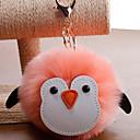 ieftine Breloc-breloc Pinguin Corean Dulce Modă Inele la Modă Bijuterii Negru / Roz Deschis / Alb Pentru Cadou Zilnic