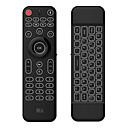 رخيصةأون لوحات المفاتيح-Rii MX9 2.4GHz اللاسلكية الهواء ماوس ميني لوحة المفاتيح ميني خلفية بيضاء 77 pcs مفاتيح