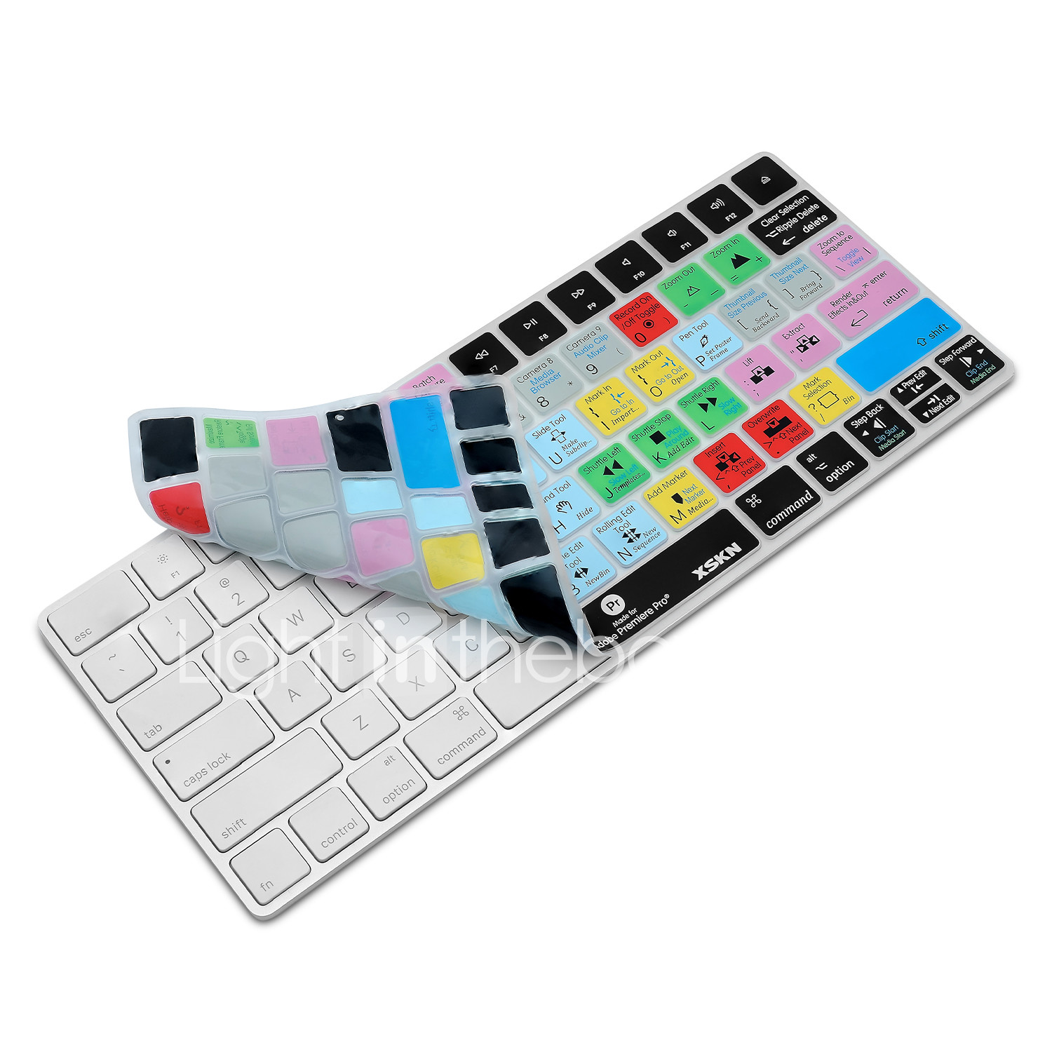 XSKN Premiere Pro CC Shortcut Keyboard Cover Silicone Skin