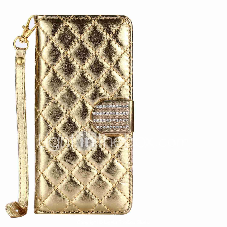 14ac5030361 Funda Para Apple iPhone X / iPhone 8 Plus Cartera / Soporte de Coche /  Diamantes