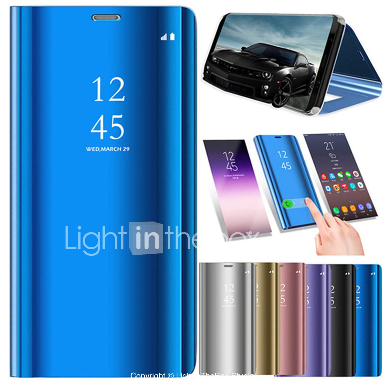 cb2f2c704e98e غطاء من أجل Samsung Galaxy Note 8   Note 5 مع حامل   تصفيح   مرآة ...