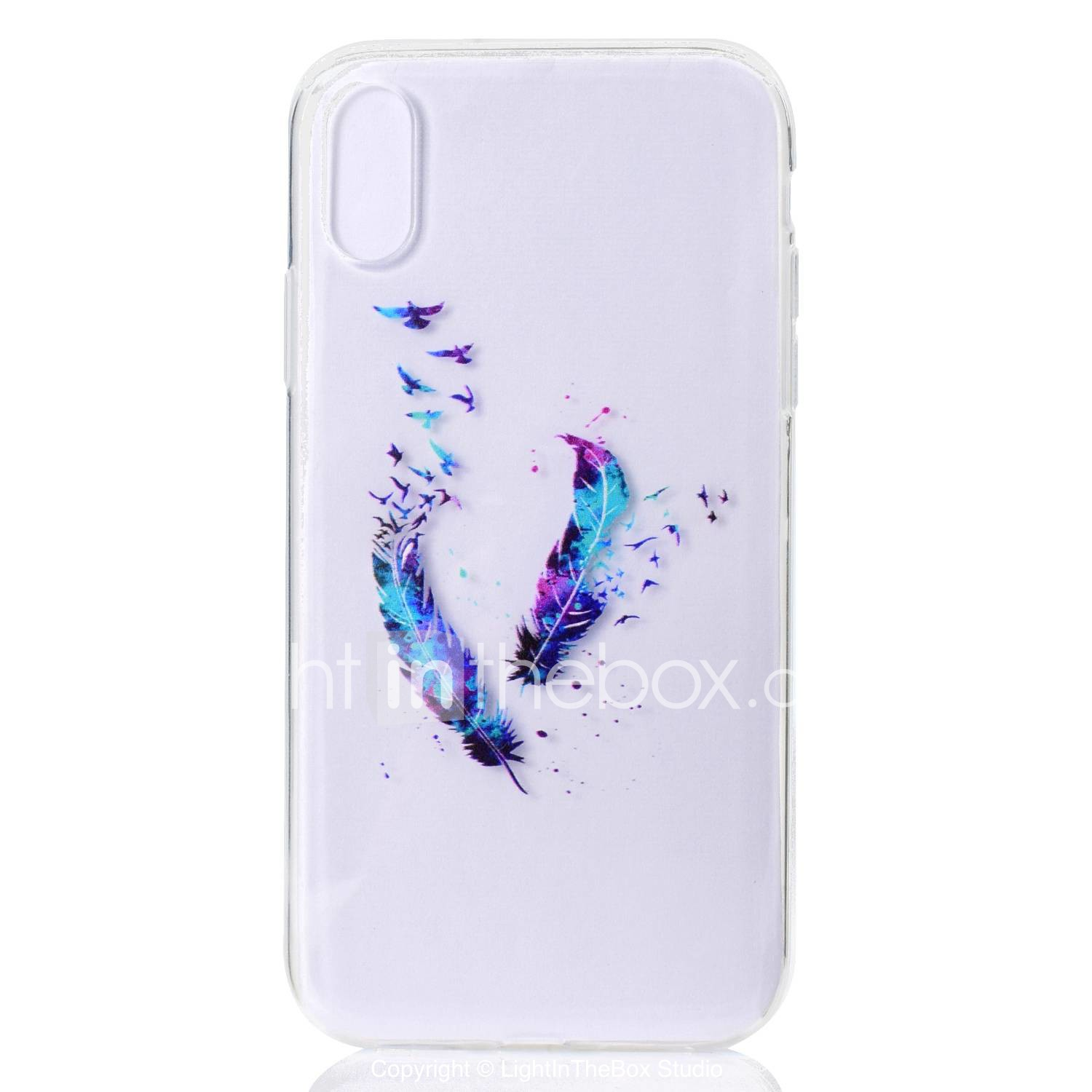 iphone xr coque transparent motif