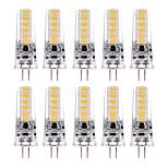 billiga -YWXLIGHT® 10pcs 3 W LED-lampor med G-sockel 200-300 lm G4 T 12 LED-pärlor SMD 5730 Varmvit Kallvit 12 V 24 V