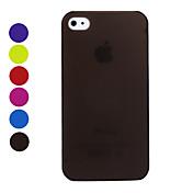 Ultratynn Beskyttelsescover for iPhone 4 /4S