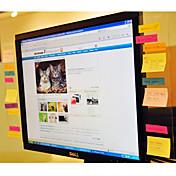 Panel de Mensajes Transparente Para Monitor de Computadora