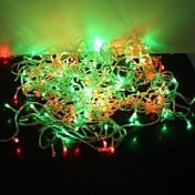 30m Lysslynger 300 LED Dip Led Rød / Blå / Gul Fargeskiftende 220 V