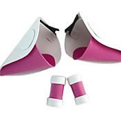 보석류 / 헤드 피스 에서 영감을 받다 초비트 Chii 에니메이션 코스프레 악세서리 헤드 피스 / 헤드폰 화이트 / 핑크 PVC 여성