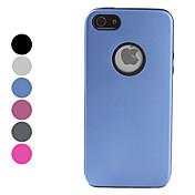 아이폰 5/5S (분류 된 색깔)를위한 방어적인 금속 뒤 케이스