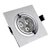 sl® 3w llevó la luz de techo con 3 leds en la característica cuadrada de alta calidad