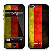 1 pieza para Anti-Arañazos Bandera Diseño iPhone 4/4S