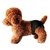 Perros Pantalones Negro Ropa para Perro Primavera/Otoño Un Color