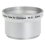 52mm Tubo Adaptador para Olympus C-760/C-765/C-770/SP-500 Plata